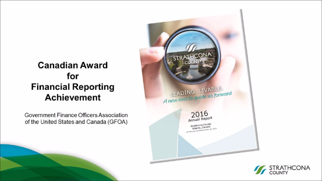 County earns another national award for annual financial reporting
