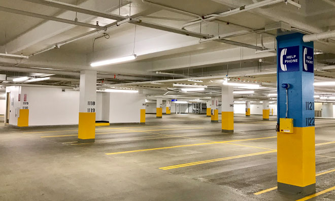 Community Centre Parkade to re-open May 8