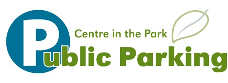 Centre in the Park - public parking graphic