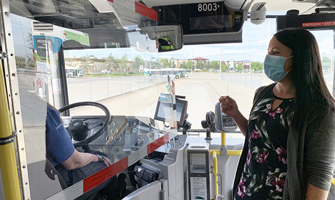 Strathcona County Transit to distribute masks, beginning July 27