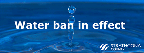 Unplanned water ban in place