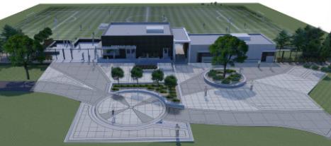 Landscape Architecture Emerald Hills Plaza Concept