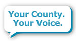 Your County, Your Voice graphic