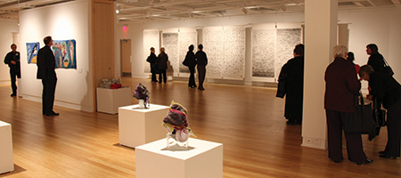 Image showing the opening of Gallery at 501