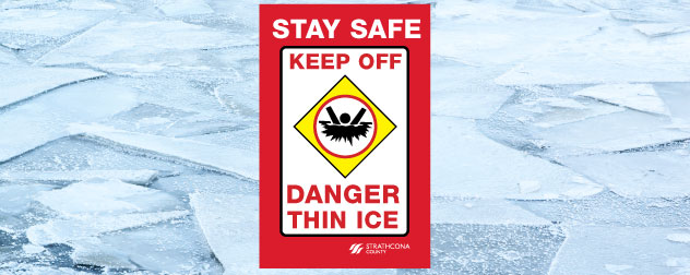 Residents asked to beware of thin ice