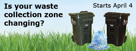 Changes in waste collection starting April 4