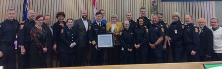 Strathcona County emergency expertise awarded
