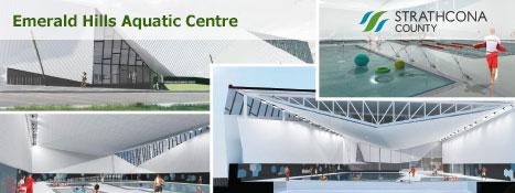 Rendering Of The New Emerald Hills Aquatics Centre Construction