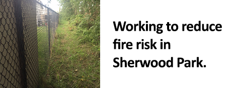 Reducing fire risk in Sherwood Park