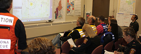 County hosts Alberta's first emergency training academy