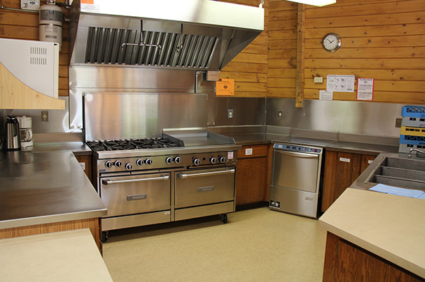 SWC main lodge Kitchen