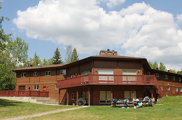 SWC main lodge summer