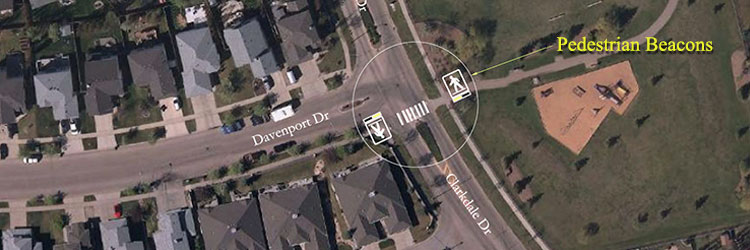 Davenport Drive and Clarkdale Drive