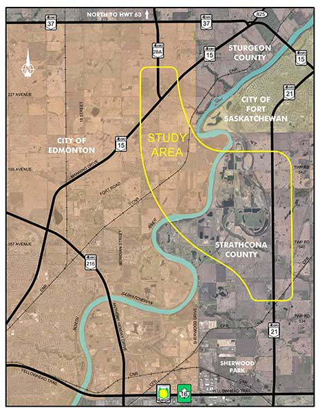 Northeast River Crossing Functional Planning Study Area
