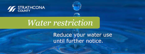 Voluntary water restriction in place