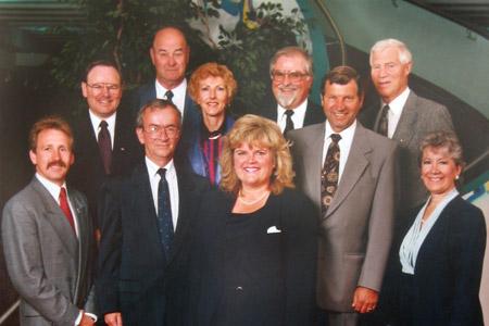 Strathcona County Council - elected 1992