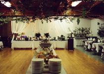 Decorated hall