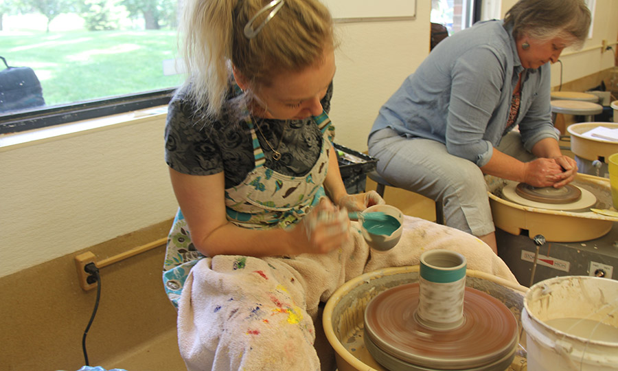 Smeltzer House - pottery