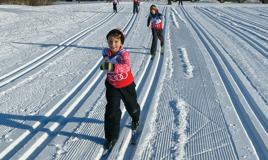 SWC - kids xc-skiing