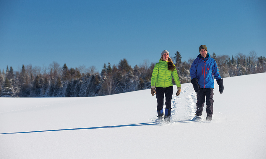 SWC - snowshoeing