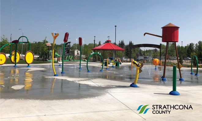 Agriculture and nature themed spray park and playground opens June 15 in Ardrossan