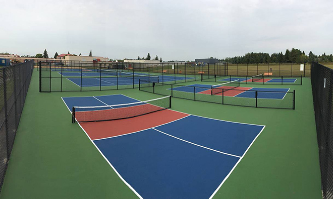 Outdoor Courts Strathcona County