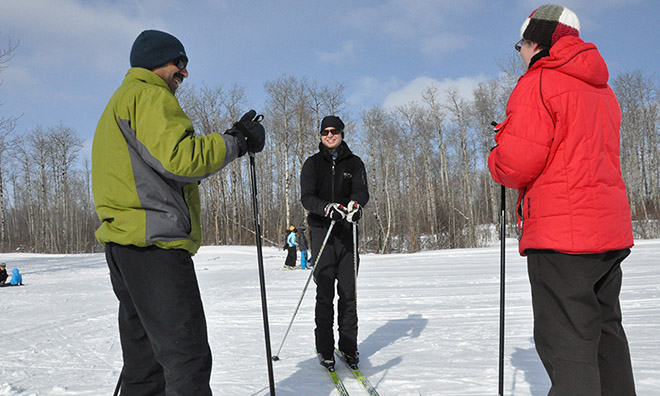 Birkie Rookie Program at the Strathcona Wilderness Centre