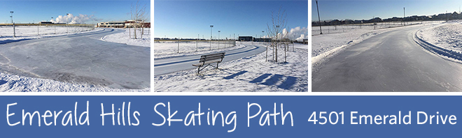Emerald Hills Skating Path