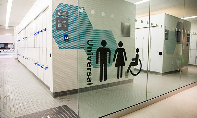 Emerald Hills Leisure Centre Universal Changeroom