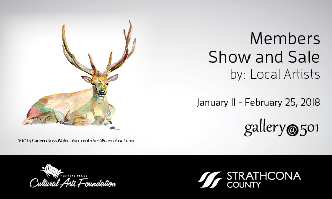 Gallery@501 presents its annual member show and sale