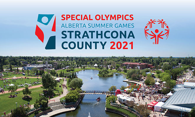 Strathcona County receives Special Olympics torch