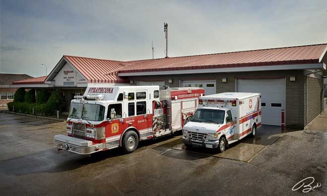 Fire Station #5, 2099 Cloverbar Road, Sherwood Park