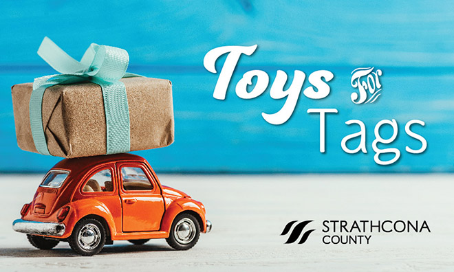 Toys for Tags campaign supporting Strathcona Christmas Bureau