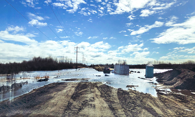 Strathcona County responding to localized flooding