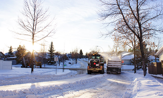 Residential snow removal begins December 5