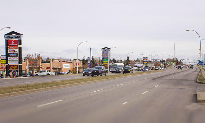 Image of Wye Road in Sherwood Park