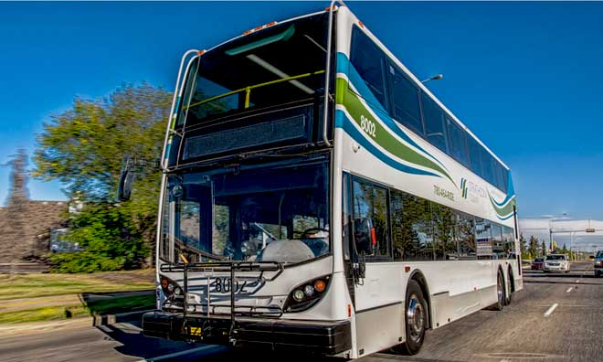 Strathcona County transit service levels for fall 2020