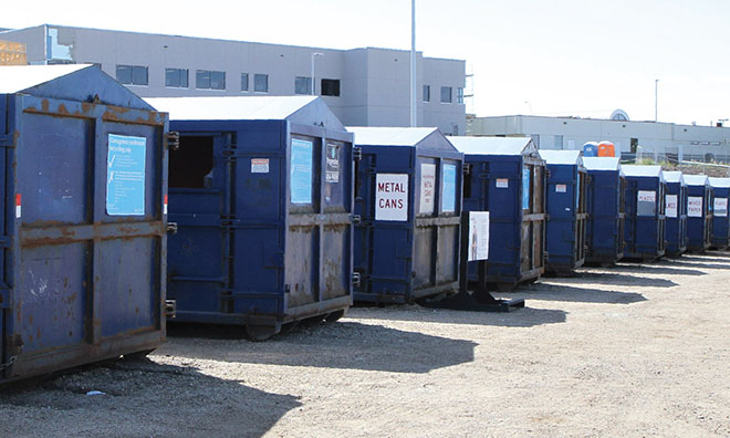 Temporary recycle site to open in Strathcona County